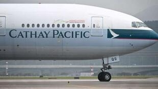 法新社:国泰航空解雇两名支持香港抗议者的飞行员