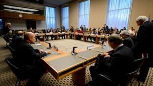 Một cuộc họp chuẩn bị cho hội nghị Genève 2 tại LHQ, ngày 20/12/2013.