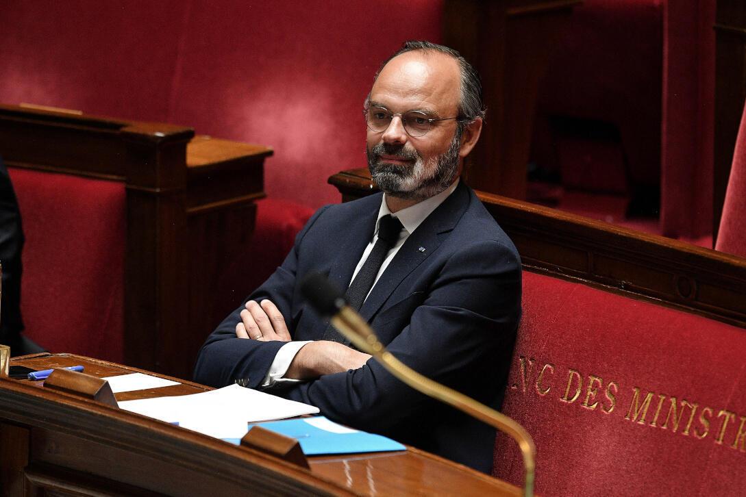 Le Premier ministre français Édouard Philippe.