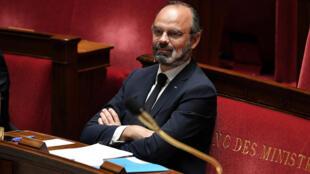 Le Premier ministre français, Édouard Philippe.