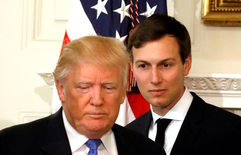 Presidente americano, Donald Trump e genro, Jared Kushner e novas suspeitas no caso de inteferência russa nas eleições americanas