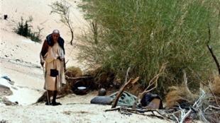 Dans un village de Boumdeid. 726 hectares seront dédiés à la plantations de nouveaux arbres pour renforcer la ceinture verte de Nouakchott.