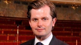 Guillaume Larrivé, porte-parole du parti Les Républicains.