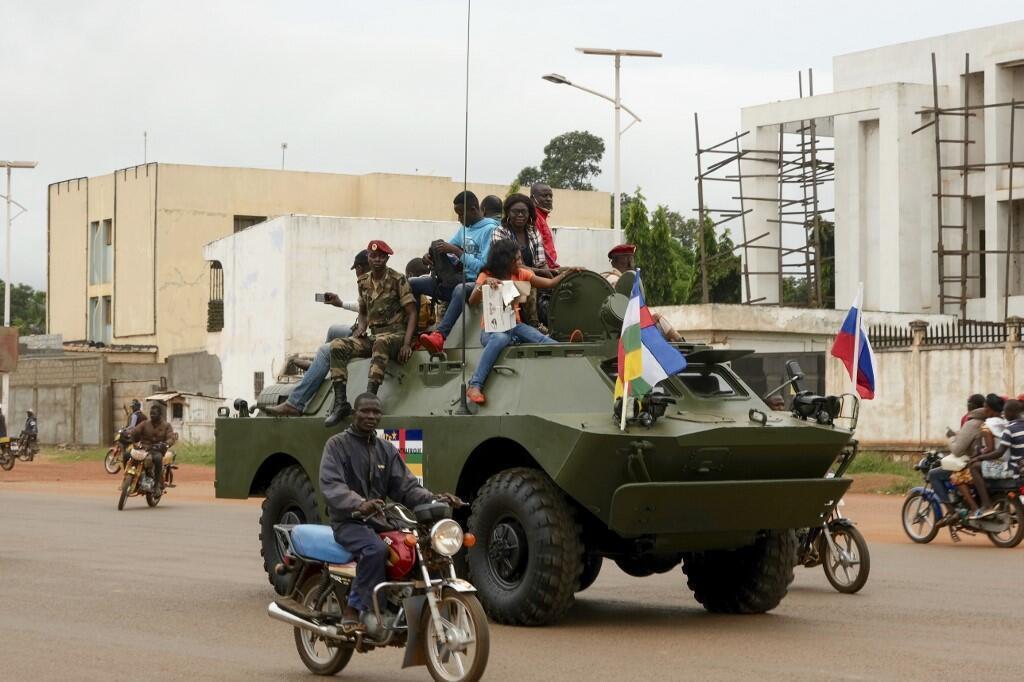 Jami'an tsaron Rasha a birnin Bangui na Afirka ta Tsakiya