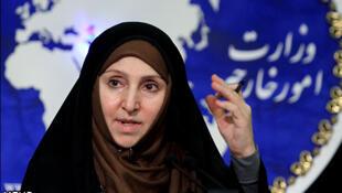 مرضیه افخم، سخنگوی وزارت امورخارجه ایران