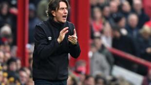 Brentford manager Thomas Frank