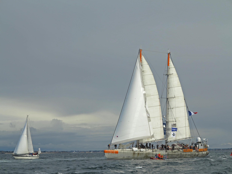 La goélette Tara part lundi 27 mai pour une expédition de six mois à l'embouchure des dix plus grands fleuves d'Europe.