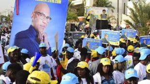 Des supporters de Karim Wade (image d'illustration).