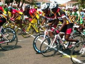 Igor Silva e Walter da Silva, os dois melhores ciclistas angonalos nas ruas de São Tomé e Príncipe