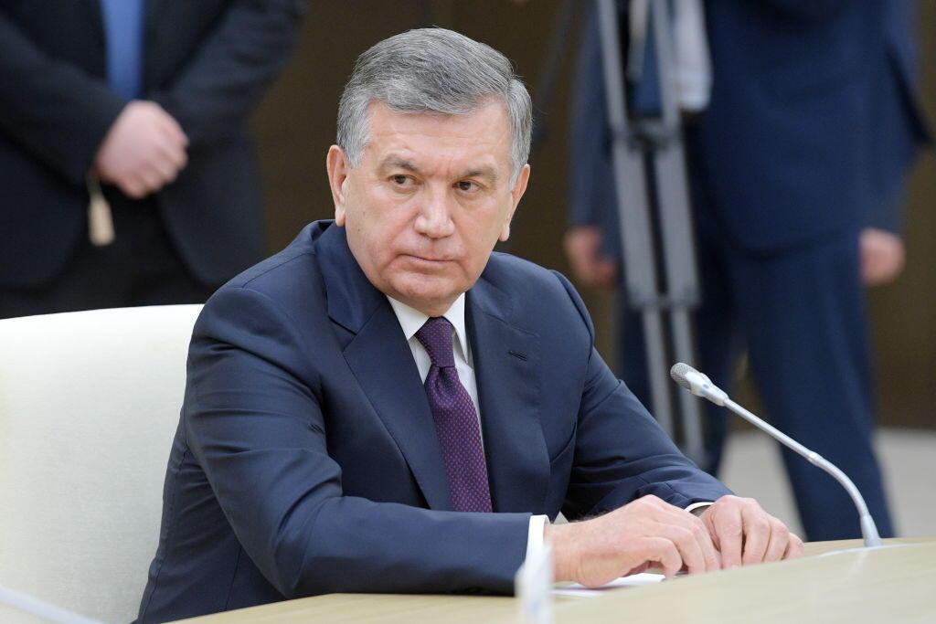 شوکت میرضیایف رئیس جمهوری ازبکستان..