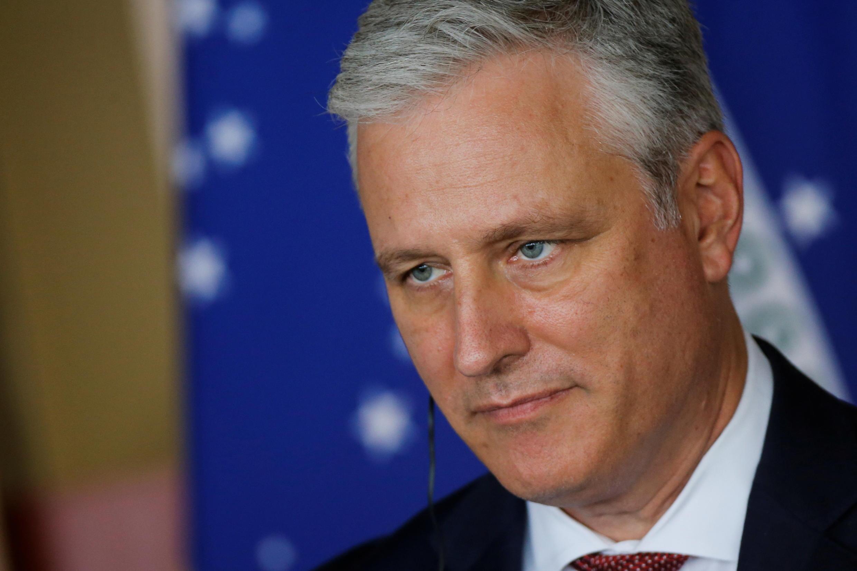 Cố vấn an ninh quốc gia Mỹ Robert O'Brien trong một sự kiện tại  Itamaraty Palace, Brasilia, Brazil, ngày 20/10/2020.