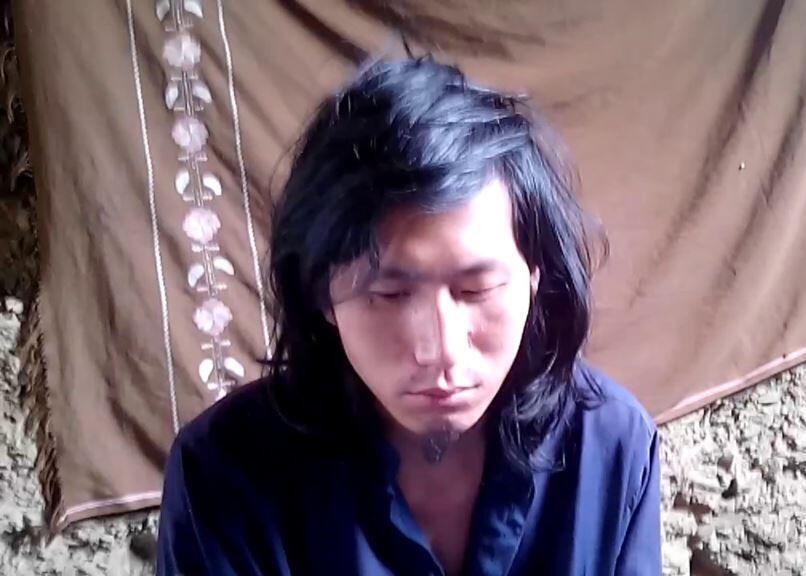 遭巴基斯坦塔利班綁架的一名中國遊客獲救。圖為網傳塔利班發布視頻的截圖。