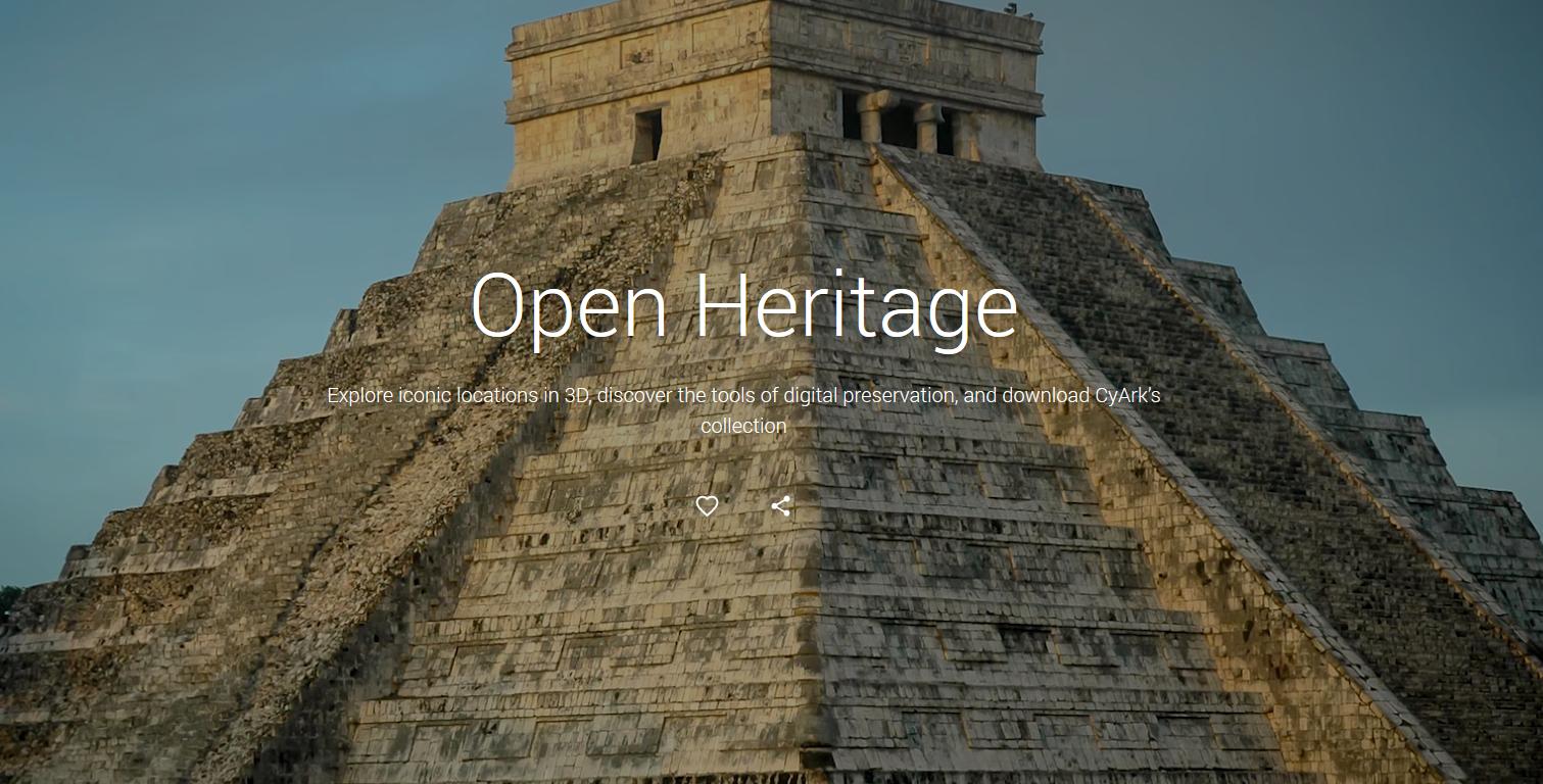 25 sites historiques prestigieux de 18 pays figurent au catalogue d'Open Heritage.