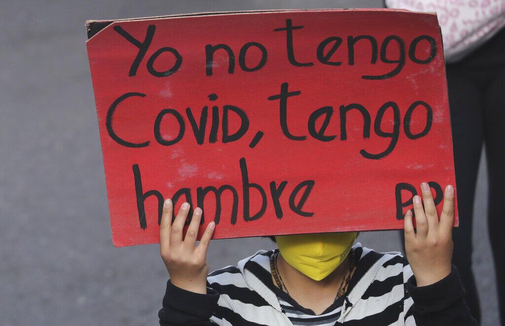 Ecuador Manifestaciones Pobreza poverty
