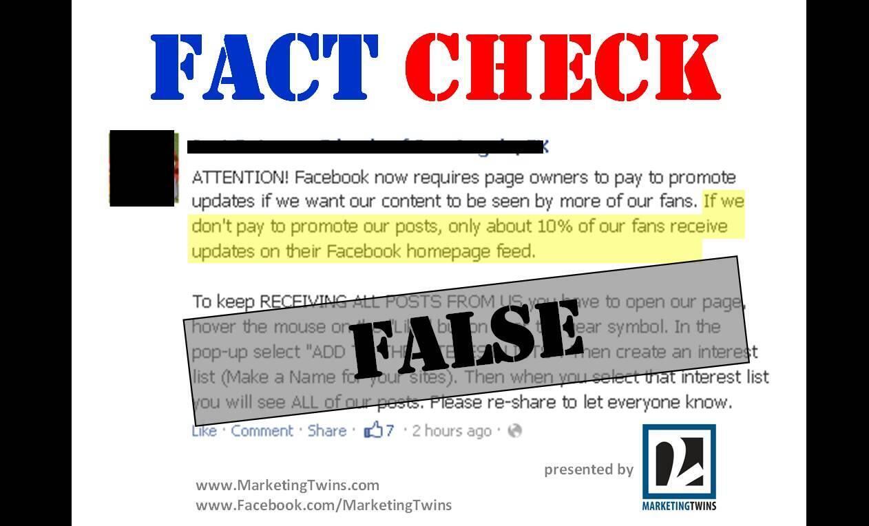 Mạng xã hội Facebook lập dịch vụ mới fact-checking, để giám sát độ tin cậy của tin tức.