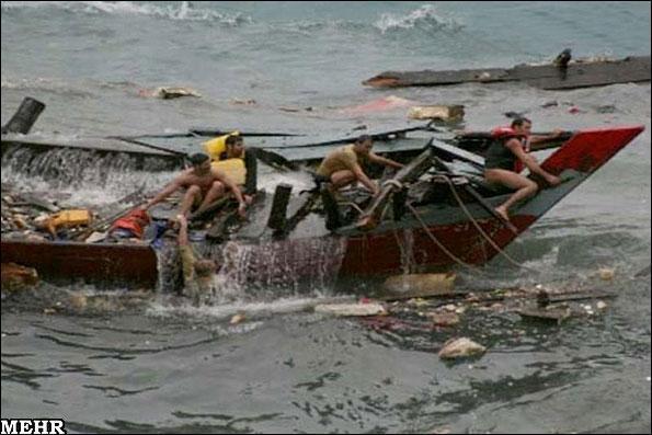 سال گذشته، 8 پناهجویان ایرانی جان خود را در آبهای اندونزی از دست دادند