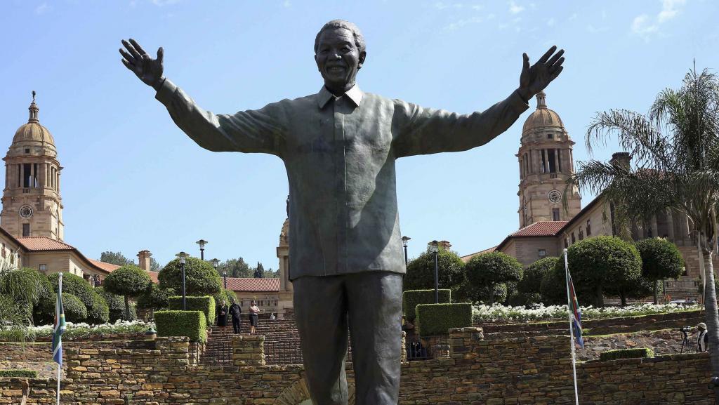 Sherehe ya kumbukumbu ya kifo cha Nelson Mandela Madiba baada ya mwaka mmoja shuja huyo wa taifa kuitoka dunia Desemba 5 mwaka 2014, Pretoria, Afrika Kusini.