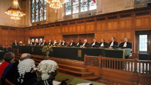 La Cour internationale de justice de La Haye aux Pays-Bas.