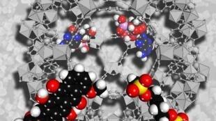 Пористая структура полимеров профессора Фере позволит доставлять молекулы лекарств.