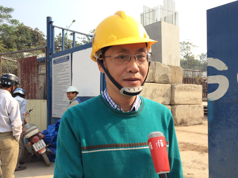 Ông Nguyễn Lâm Bình, phó giám đốc Ban Quản lý Dự án 1, thuộc Ban Quản lý Dự án đường sắt Hà Nội.