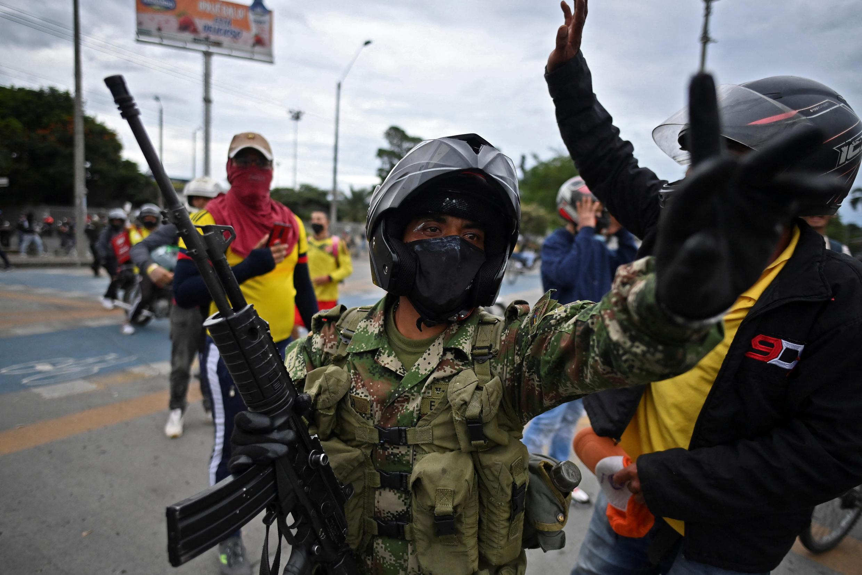 colombie armée militaire mobilisation contestation cali