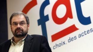 فرانسوا شِرِک، رئیس پیشین سندیکای CFDT