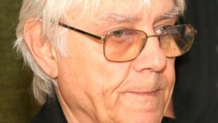 Portrait de l'auteur italien de bandes dessinées, Milo Manara.