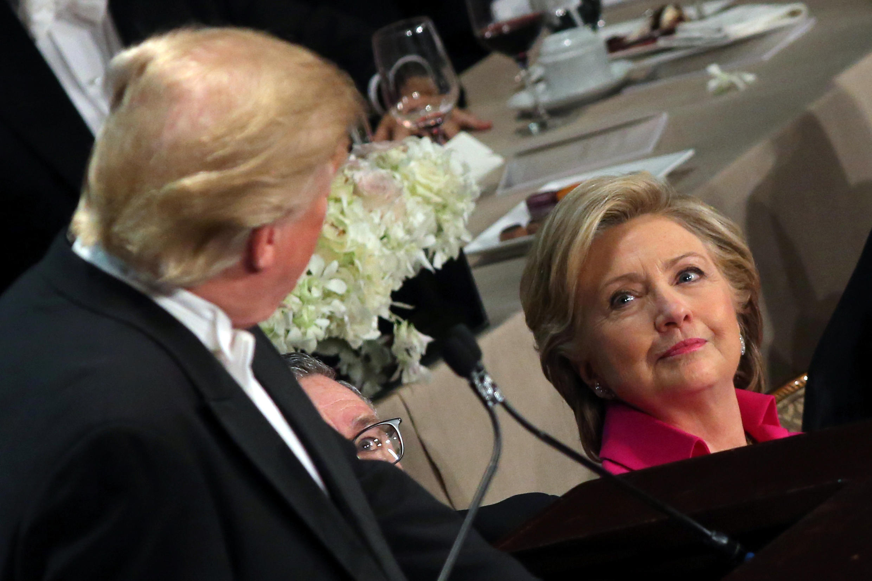 Donald Trump na  Hillary Clinton, wagombea urais nchini Marekani
