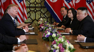 Делегации США и КНДР на переговорах в ханойском отеле Sofitel Legend Metropole, 28 февраля 2019.