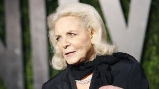 Lauren Bacall à Hollywood en 2010.