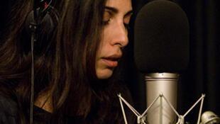 Yasmine Hamdan au studio 136.