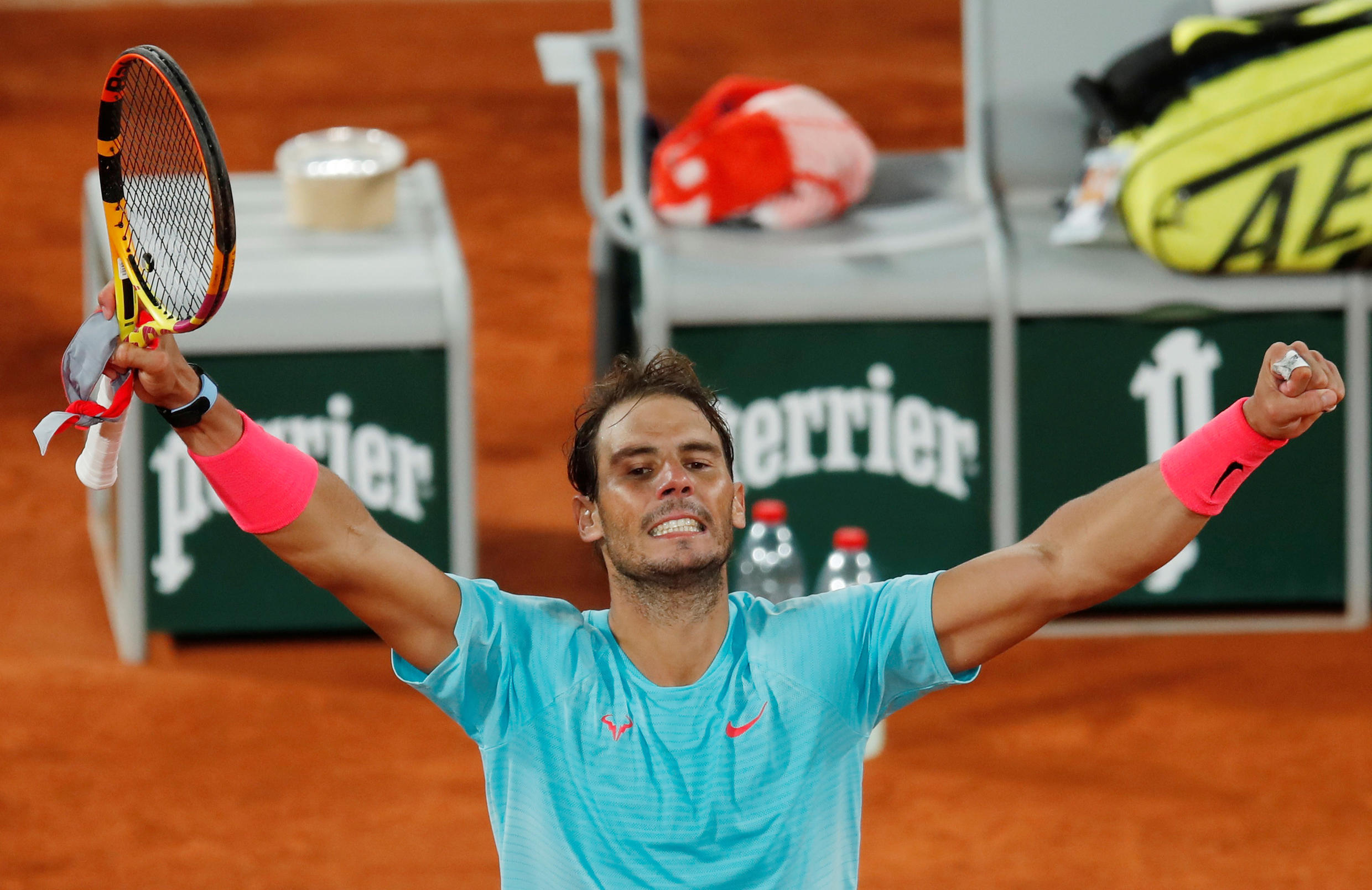 Nadal wins French Open Quarter Final