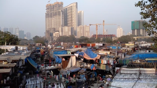 View of Dhobi Ghat in Mumbai