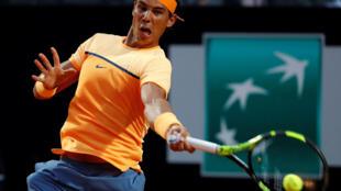 O tenista espanhol Rafael Nadal venceu nove títulos em Roland-Garros.