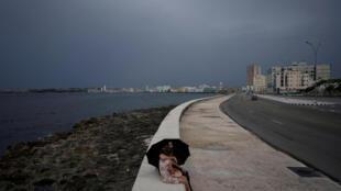 El Malecón en La Habana, Cuba, el 24 de julio de 2020.