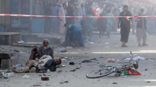 جلالآباد در افغانستان، ۱۹ اوت ۲۰۱۹