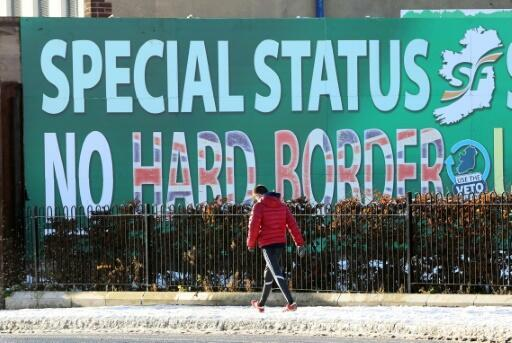 The future of the border between EU member Ireland and Northern Ireland after Brexit was one of the most hotly contested issues in the negotiations
