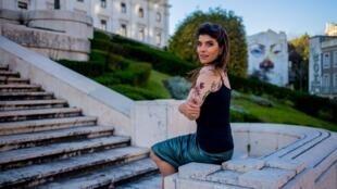 A atriz Joana Balaguer escolheu Portugal para viver e desenvolver projetos profissionais.