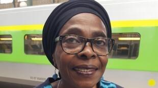 Portrait de Fatoumata Amy Diallo.
