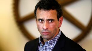 Henrique Capriles, líder da oposição na Venezuela