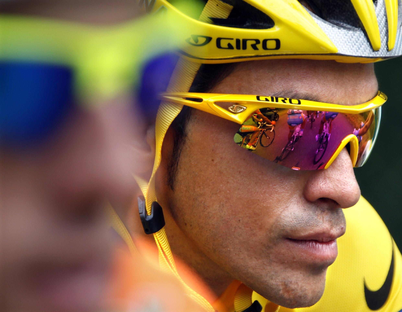 Испанский гонщик Альберто Контадор