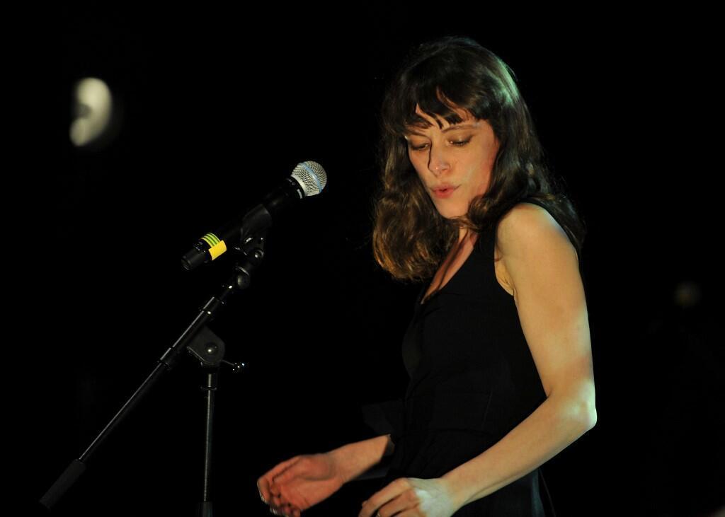 Emily Loiseau au printemps de Bourges pour l'édition 2016. (Image d'illustration)
