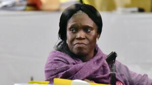 Simone Gbagbo akisikilizwa mahakamani Juni 1, 2016 mjini Abidjan, Cote d'Ivoire.