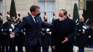 Emmanuel Macron-Abdel Fattah al-Sisi