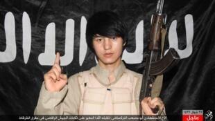 یک عضو اویغور گروه دولت اسلامی