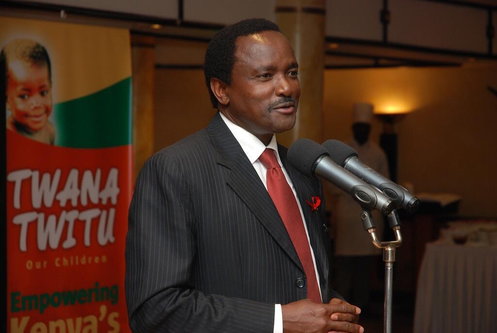 Aliyewahi kuwa makamu wa rais wa Kenya, Kalonzo Musyoka ambaye sasa yuko kwenye muungano wa CORD