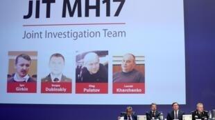 A Holanda acusou hoje três russos e um ucraniano de envolvimento directo na destruição em pleno voo do MH17 da Malaysia Airlines.