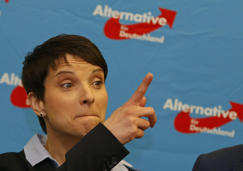 Лидер правой популисткой партии «Альтернатива для Германии» Фройке Петри