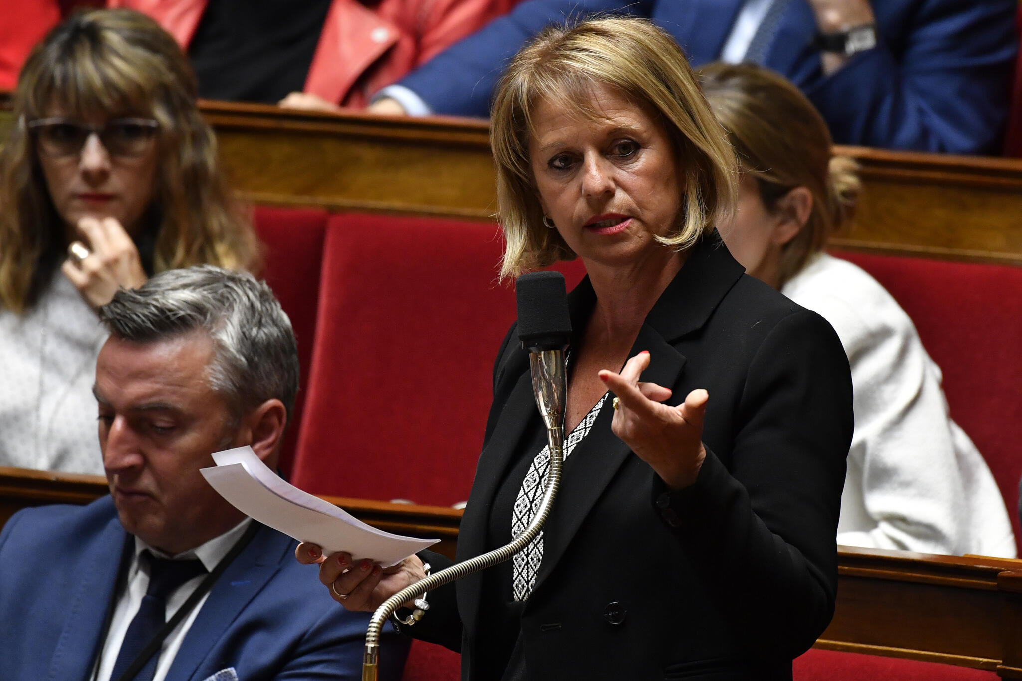 MP Brigitte Bourguignon presided the special commission on pension reform in the National Assembly, which concluded work on Tuesday without examining all 22,000 amendments.