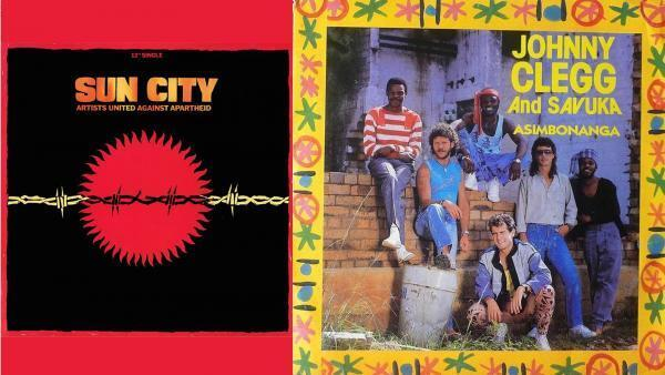 Sun City © EMI et Johnny Clegg and Savuka © Capitol Records.